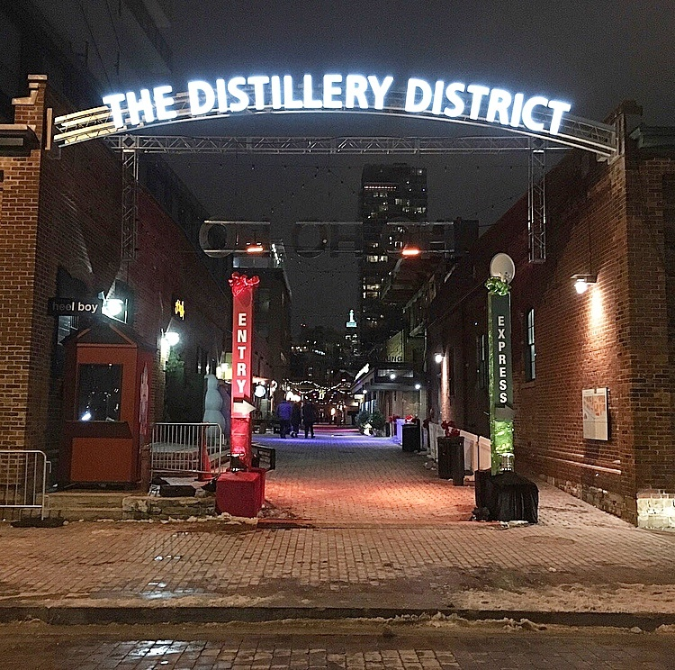 The Distillery District