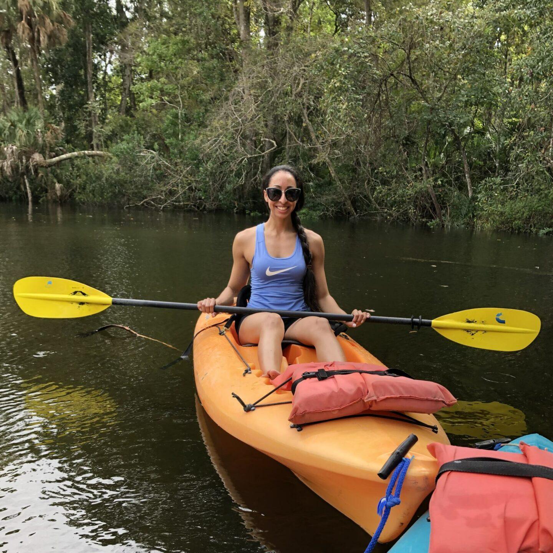 Kayaking Weeki Wachee Springs